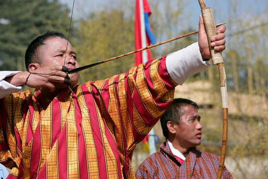 Bhutan Creative Tours: Tour flavor of Bhutan.The Bhutanese national game