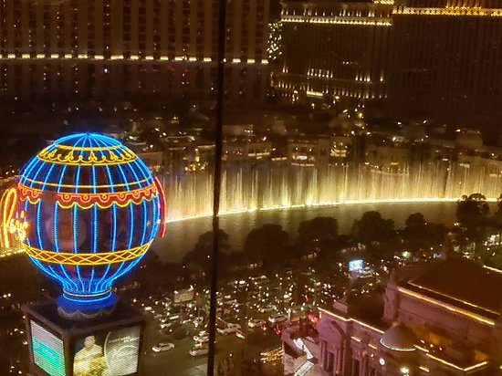 Planet Hollywood Resort & Casino: Awesome view from room 2695.