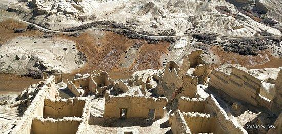 Zanda County, Trung Quốc: The ruins of Nyari Kingdom.
