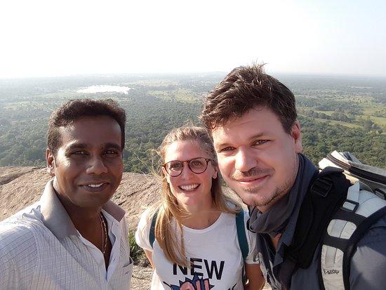 With my clients - Thilanka Tours Srilanka