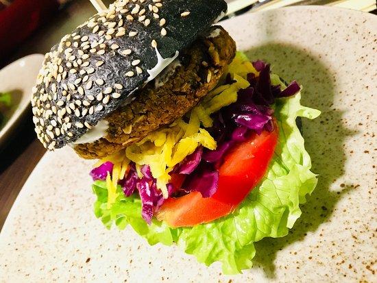 Vegan Burger One Of The Best In Ljubljana Picture Of Gourmet Vegan Ljubljana Tripadvisor