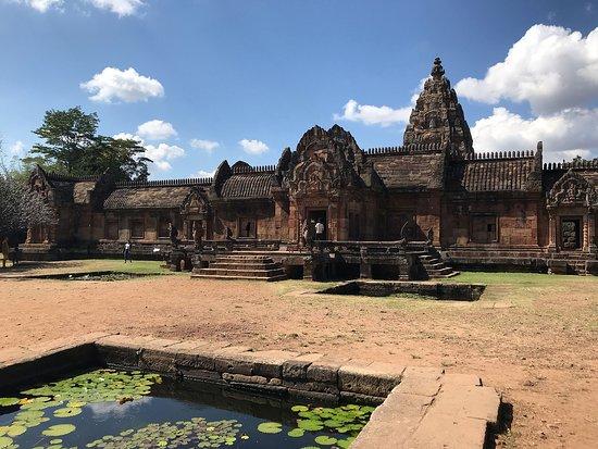 Phanom Rung Historical Park (Prasat Hin Phanom Rung): Phanom Rung: Eastern, main entrance to courtyard within.