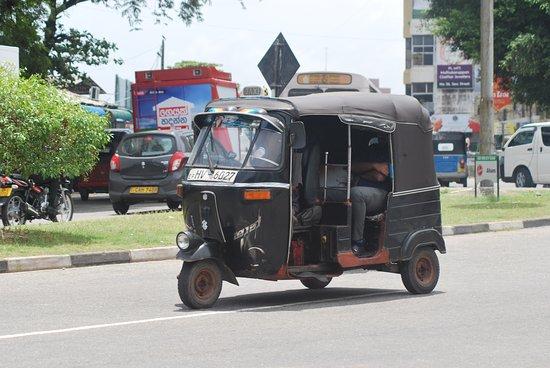 Tuk Tuk in Colombo