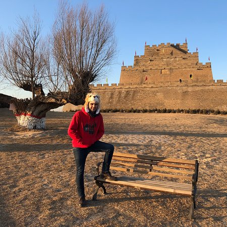 Great place to be in the heart of the dragon - the GREAT WALL  heart! Perfect place only 30rmb entry fee! See some info videos on My movie travel channel.