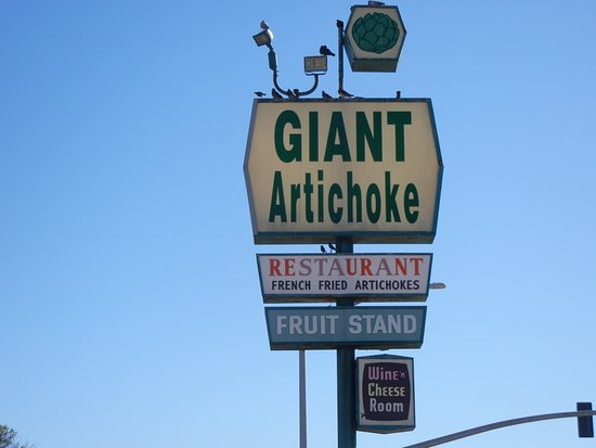 Castroville, Kalifornien: Yep , when you see this sing youll know your in the right place