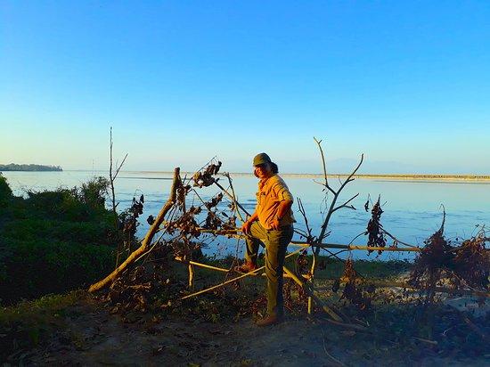 Национальный парк Казиранга, Индия: Posing for the camera