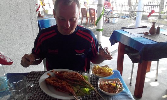 Stick Fisherman View Restaurant Koggala : Это еще в 2016