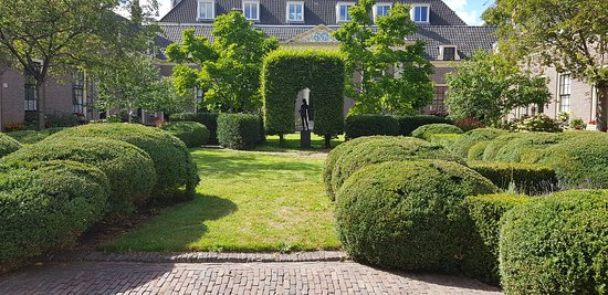 Haarlem, Países Bajos: Hofje van Wouterus van Oorschot( Augustus 2018)