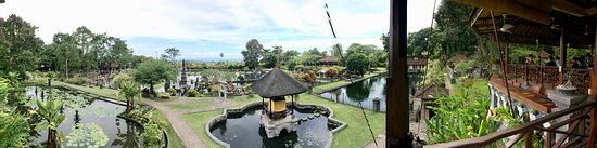 Subagan, Indonesia: View from dining area
