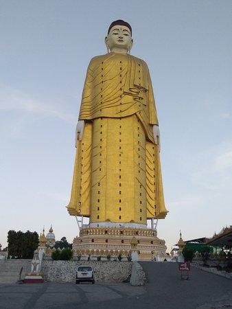 Standing buddha  in monywa
