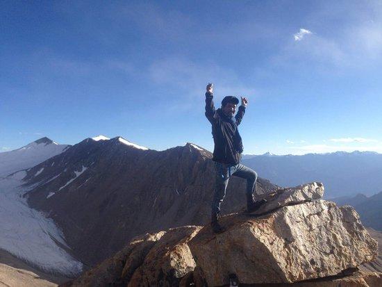 (Likir-la) pass 5560m Altitude