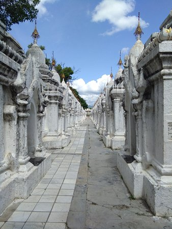 World's biggest  book  temple in mandalay