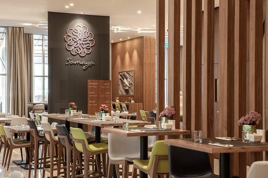 Hilton Garden Inn Dubai Al Jadaf Culture Village : Somaya our all day dining restaurant