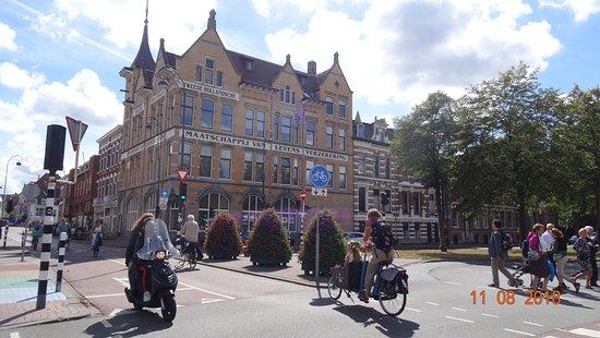 Haarlem, Países Bajos: Летние прогулки по Харлему: Kruisweg...