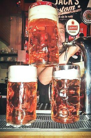 Litrowe Kufle - czeskie piwo