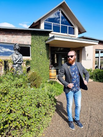 Creation Wines: Arrival at Tasting Room