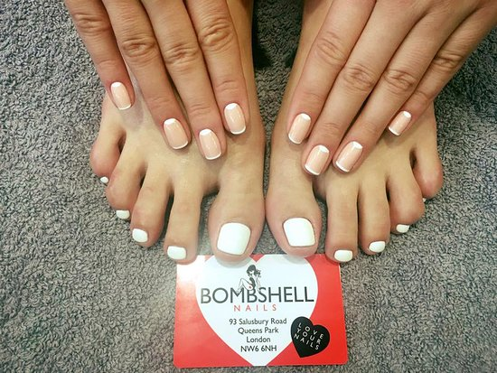 Bombshell Nails: Welcome to our nail salon in Queens Park, London