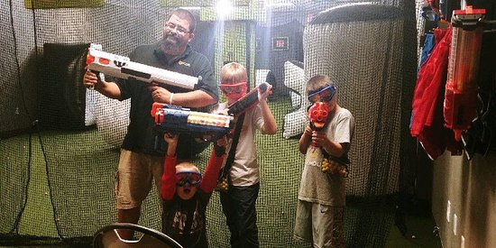Brainy Actz Nerf Wars