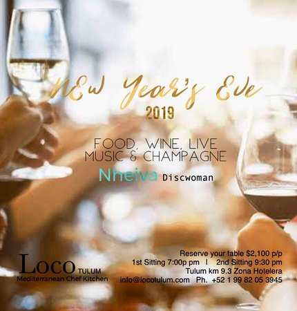 ‪‪Loco Tulum‬: Loco Tulum New Year's eve  Call us and reserve your table Live music by DJ Nheiva‬