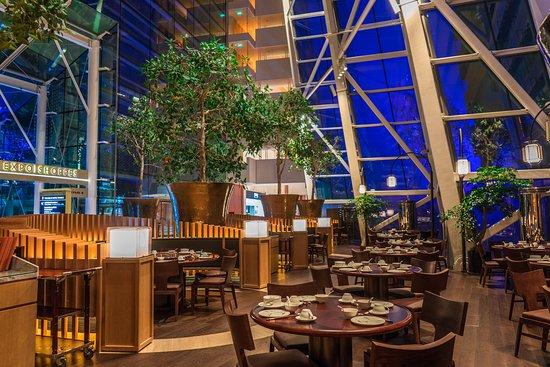 Blossom Restaurant: Dining area