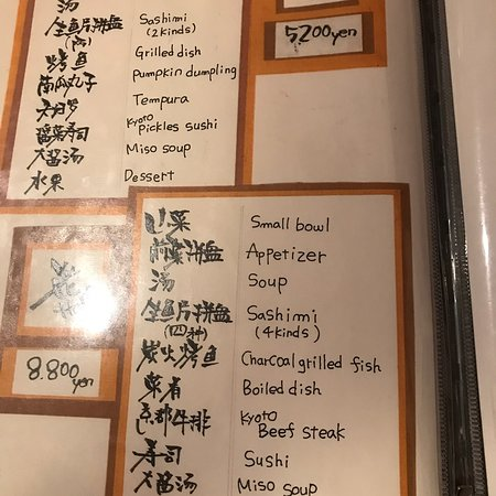 Kaiseki Meal in the heart of Gion