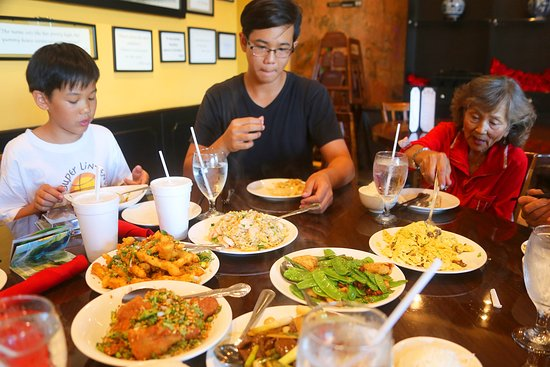 Our family enjoyed every dish that was served.
