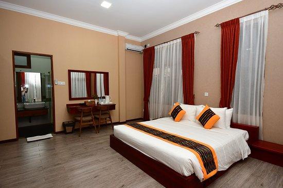 Heho, Myanmar: suite - sleeping room