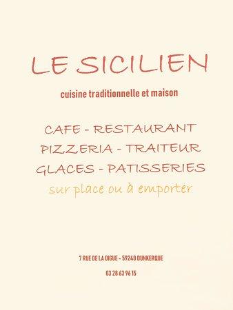 Le Sicilien  7 Rue de la Digue  59240 Dunkerque