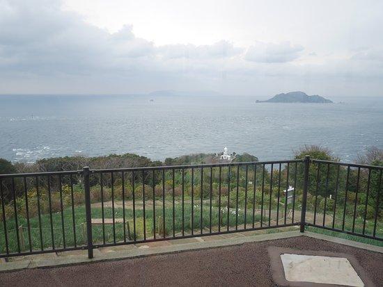 Sekizaki Ocean and Astronomical Observatory Hall: 海星館からの眺め