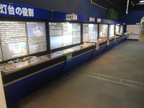 Sekizaki Ocean and Astronomical Observatory Hall: 海星館内の展示