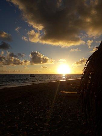 Amanecer en Punta Cana.