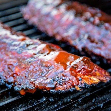 Shock house Steak house: Baby ribs marinate alla brace