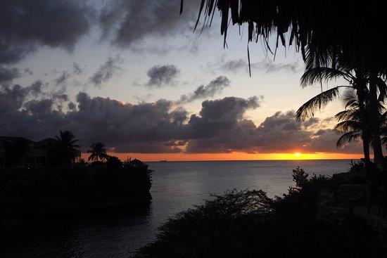 Sunset at Lagun Bay from the Bahia restaurant