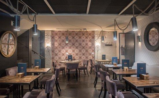 LOK Gastrobar Madrid: Interior