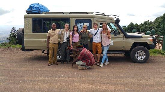 Moqisto safa group at NgoroNgoro