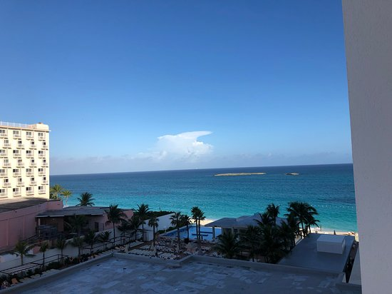 Hotel Riu Palace Paradise Island: View from room 403