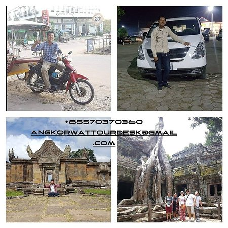 Tỉnh Siem Reap, Campuchia: My Name Kong Thy. all tour transportation and tour guide, we looking forward to welcome you all.