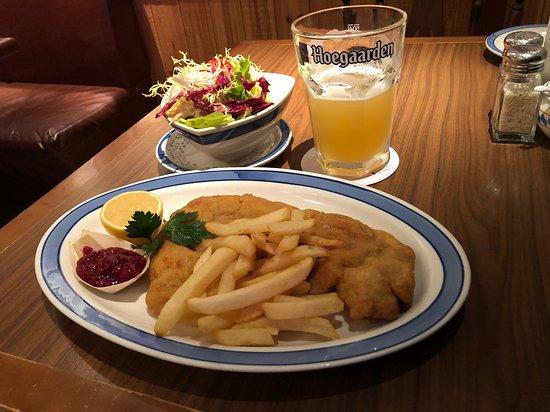 Veal Wienerschnitzel & Salad