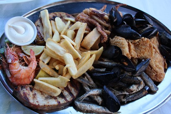 Taverna Irene: Seafood platter