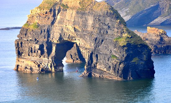 Wild Atlantic Way, Ireland: Come paddle board with us through amazing rock formations in the West coast of Ireland
