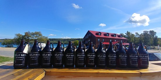 Split Rail Brewing Company: Growlers available