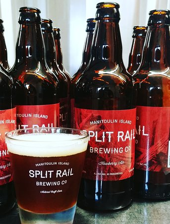 Split Rail Brewing Company: Hawberry Ale --- made with Manitoulin Hawberries hand-picked by the Split Rail staff