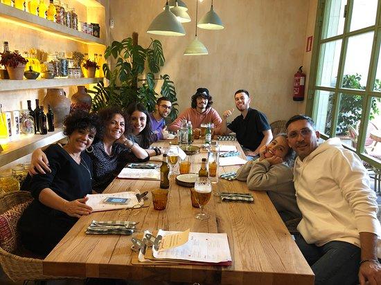 Giulietta: comida en familia