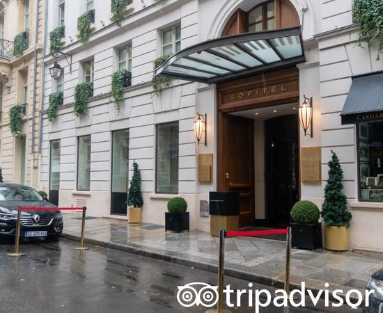 Entrance at the Sofitel Paris Le Faubourg