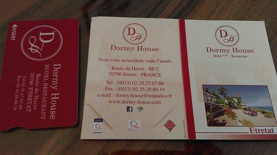 Hotel Dormy House : Этрета, отель Dormy House (ноябрь 2018 года)