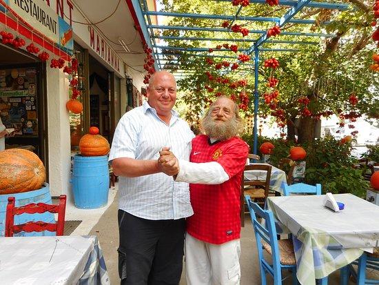 Mesa Potamoi, اليونان: Le patron et moi, Hopa !!!