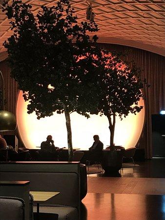 Nydelig solnedgang ( innendørs)