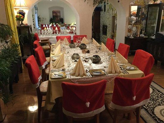 La Bodega: Tisch für eine Weihnachtsfeier