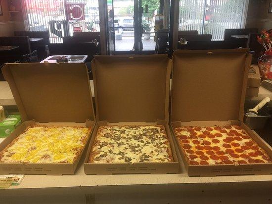 Gibsonia, Pensylvánie: Best Sicilian pizza