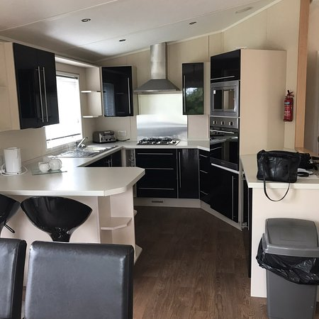 Sandy meadows John Fowler lovely lodge nice clean and comfortable. The site is nice and clean highly recommend for a family holiday everything you need.